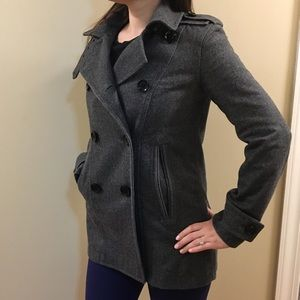 Authentic Burberry Brit  wool jacket size 4